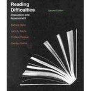 9780070631823: Reading Difficulties: Instruction and Assessment
