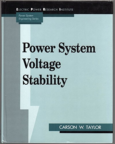 9780070631847: Power System Voltage Stability (EPRI Power System Engineering)