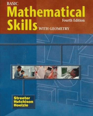9780070632660: Basic Mathematical Skills with Geometry