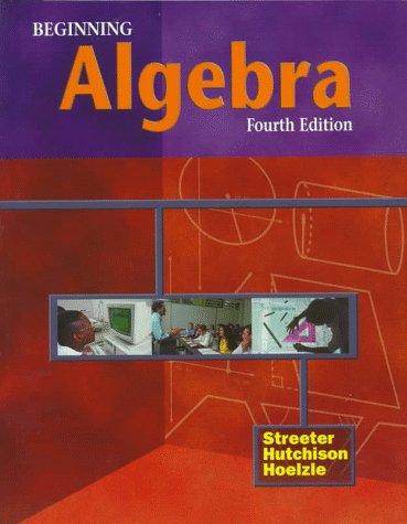 9780070632714: Beginning Algebra