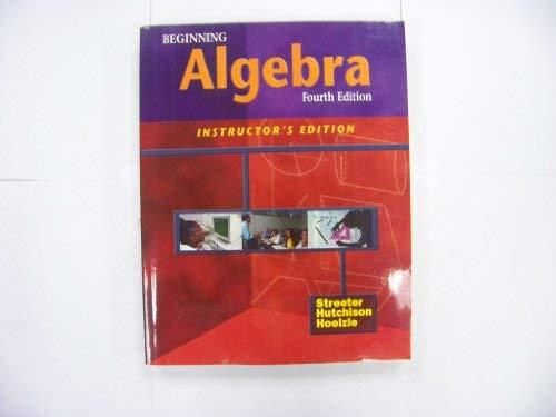 9780070632769: Beginning Algebra