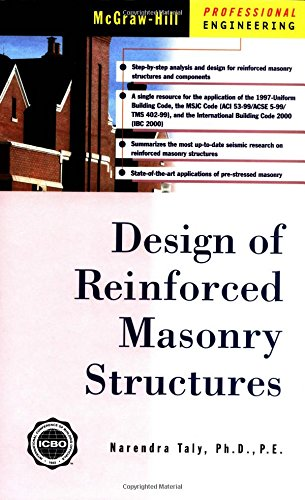 9780070633667: Reinforced Masonry Structure Design (McGraw-Hill Professional Engineering)