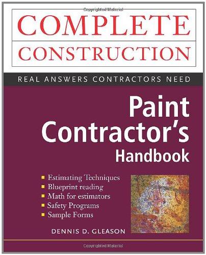 9780070633674: Paint Contractor's Complete Handbook (Complete Construction)