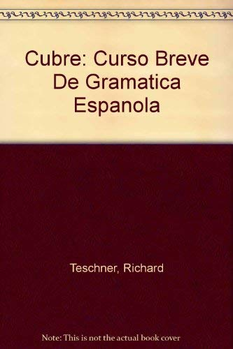 9780070633841: Cubre: Curso Breve De Gramatica Espanola (Spanish Edition)
