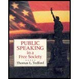 9780070633889: Public Speaking in a Free Society