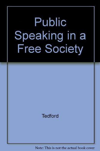 9780070633896: Public Speaking in a Free Society