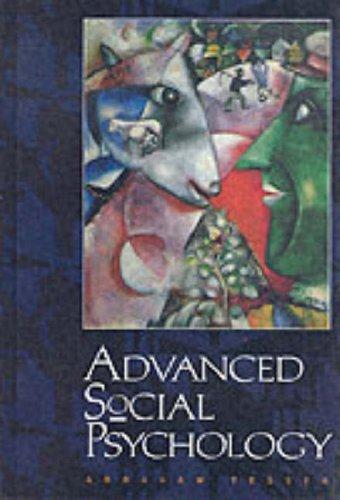 9780070633926: Advanced Social Psychology