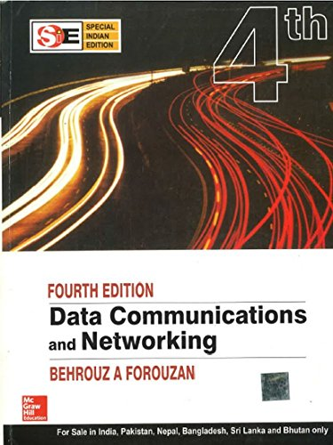 9780070634145: Data Communications and Networking (McGraw-Hill Forouzan Networking)