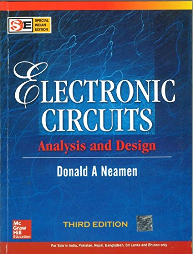 Electronic Circuits: Analysis And Design 3Rd Edition: Neamen