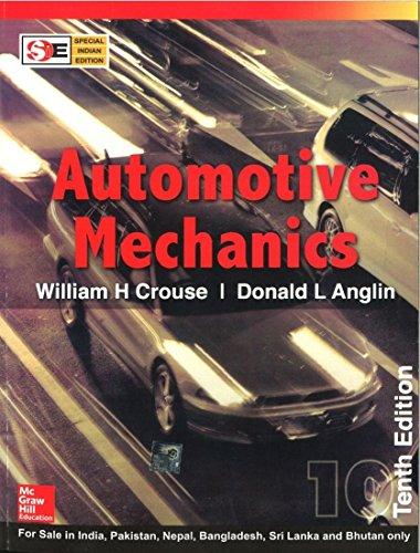 9780070634350: Automotive Mechanics