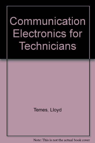 9780070634879: Communication Electronics for Technicians