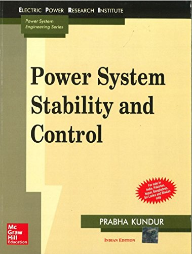 9780070635159: POWER SYSTEM STABILITY AND CONTROL