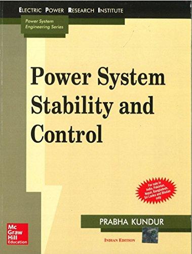 Power System Stability and Control: Prabha Kundur