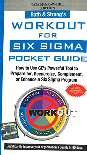 9780070635289: Workout for Six Sigma Pocket Guide