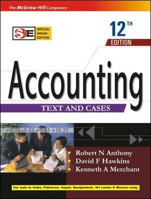 9780070635531: Accounting: Texts and Cases