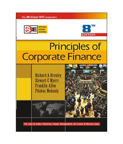 9780070635807: Title: Principles of Corporate Finance 8th Edition Specia