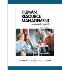9780070635821: HUMAN RESOURCE MANAGEMENT [Paperback] by H. John Bernardin