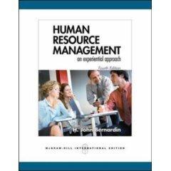 9780070635821: human resource management (an experiential approach)