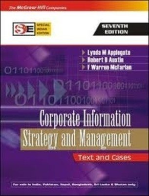 9780070635845: Corporate Information: Strategy and Management; Text and Cases