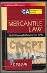 9780070635937: Merchantile Law For CA Common Proficiency Test (CPT)