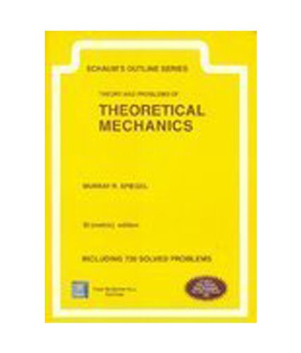 9780070636002: Schaum's Outline of Theoretical Mechanics