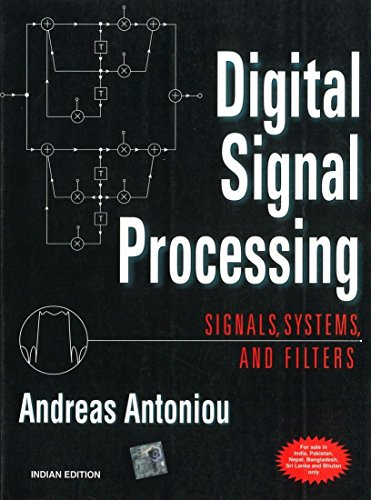 9780070636330: Digital Signal Processing: Signals, Systems, and Filters