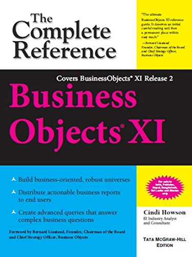 9780070636415: [BusinessObjects XI : The Complete Reference: Release 2] [by: Cindi Howson]