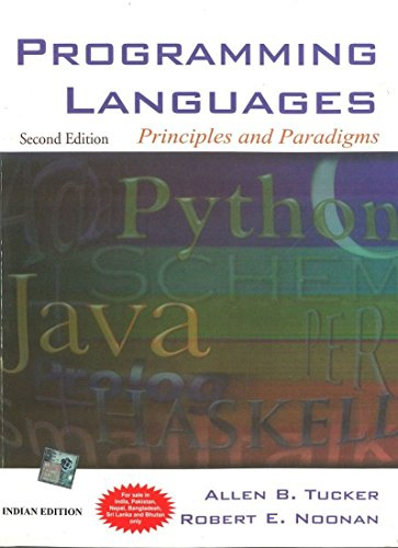 9780070636590: Programming Language: Principles and Paradigms