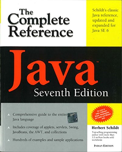 Java The Complete Reference Seventh Edition By Herbert Schildt