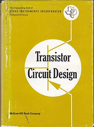 9780070637375: Transistor Circuit Design