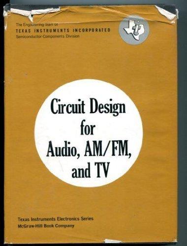 9780070637405: Circuit Design: Audio AM/FM and Television