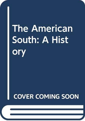 9780070637436: The American South: A History