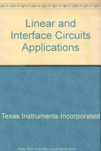 9780070637641: Linear and Interface Circuits Applications
