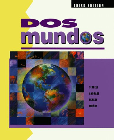 9780070638655: DOS Mundos: A Communicative Approach Spanish Edition for Student (Spanish Text for Student) (English and Spanish Edition)