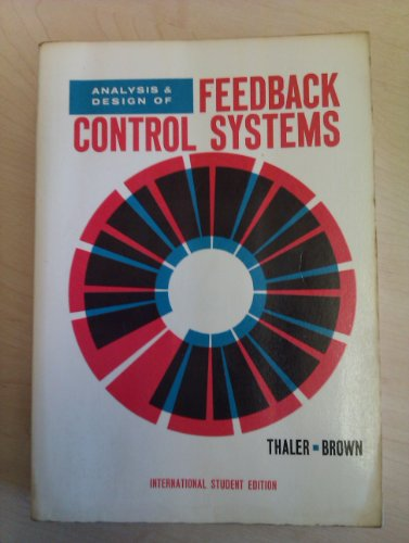 9780070638747: Analysis and Design of Feedback Control Systems