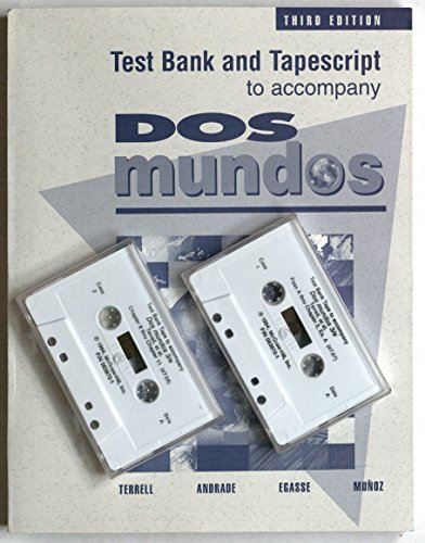 9780070638761: Test Bank and Tapescript to Accompany Dos Mundos 3rd Edition