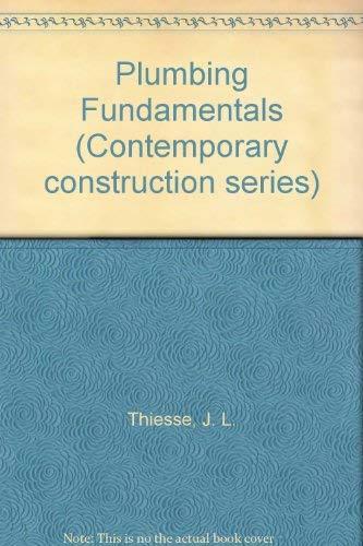 9780070641914: Plumbing Fundamentals (Contemporary construction series)