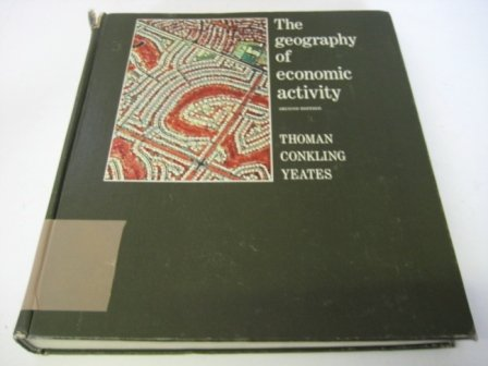 9780070642058: The Geography of Economic Activity