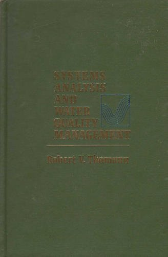 9780070642140: Systems Analysis and Water Quality Management
