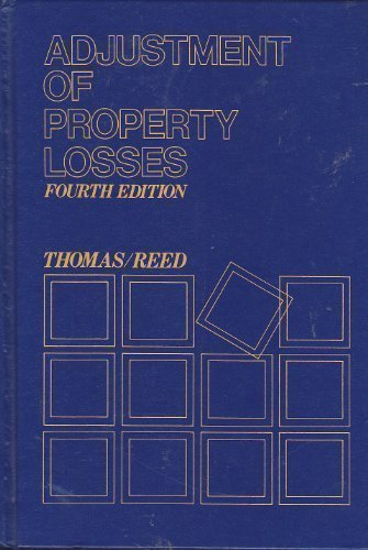 9780070642157: Adjustment of Property Losses