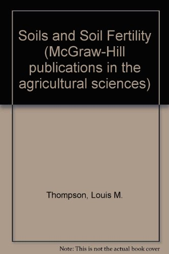 9780070644106: Soils and soil fertility (McGraw-Hill publications in the agricultural sciences)