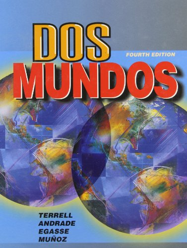 9780070644342: Dos mundos (Student Edition)
