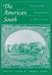 9780070644380: The American South: A History, Vol. 1