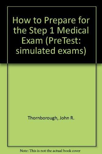 9780070645226: How to Prepare for the Step 1 Medical Exam, 2/e