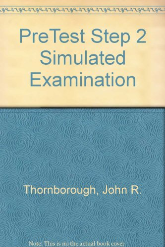 9780070645257: Pretest Step 2 Simulated Examination
