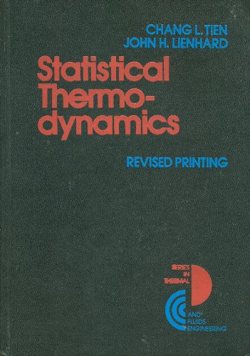 9780070645707: Statistical Thermodynamics (Series in thermal and fluids engineering)