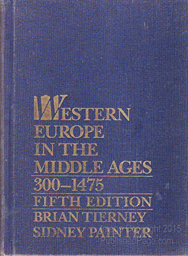 9780070646131: Western Europe in the Middle Ages 300-1475