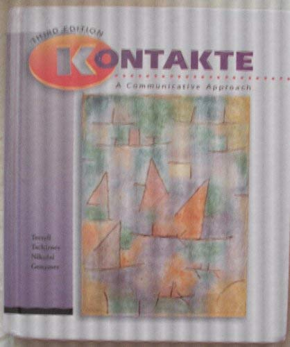 9780070646445: Kontakte: A Communicative Approach