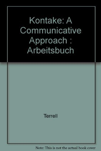 9780070646452: Kontakte: A Communicative Approach: Arbeitsbuch