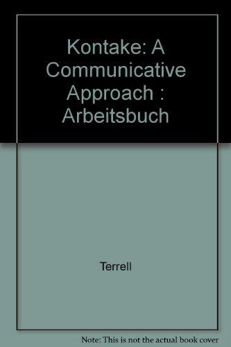 9780070646452: Kontakte: A Communicative Approach: Arbeitsbuch